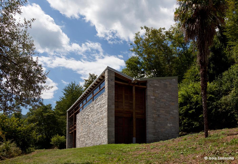 Case per Artisti in stile razionalista, Isola Comacina