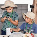 Scava con picchetto - Attività didattica Isola Comacina