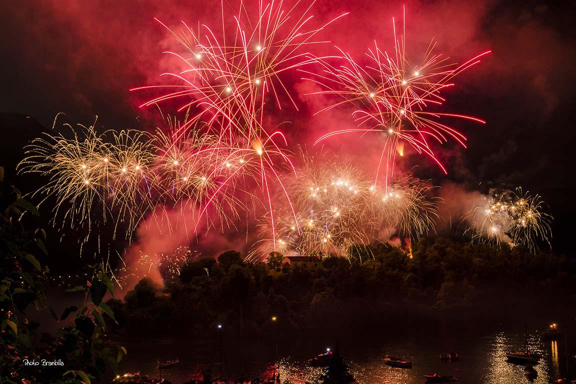 Sagra di San Giovanni 2016 Isola Comacina fuochi artificio